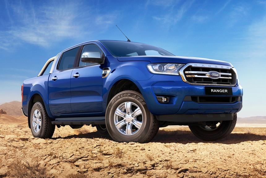 Глобальный пикап Ford Ranger обновлен во второй раз