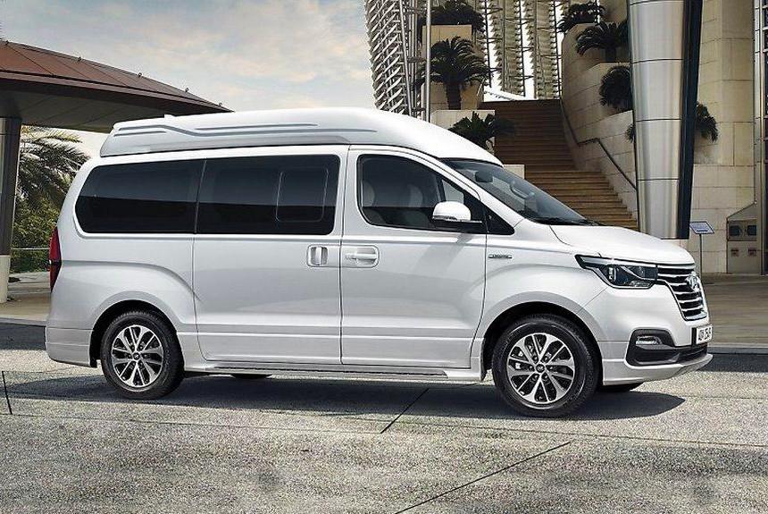 Обновленный Hyundai Grand Starex Limousine стал роскошнее