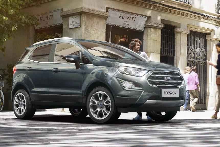 Обновленный кроссовер Ford EcoSport: цены в России