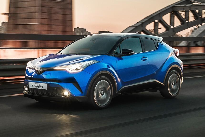 Toyota C-HR  базовая цена и набор версий для России — Авторевю 1c5bfb80b37