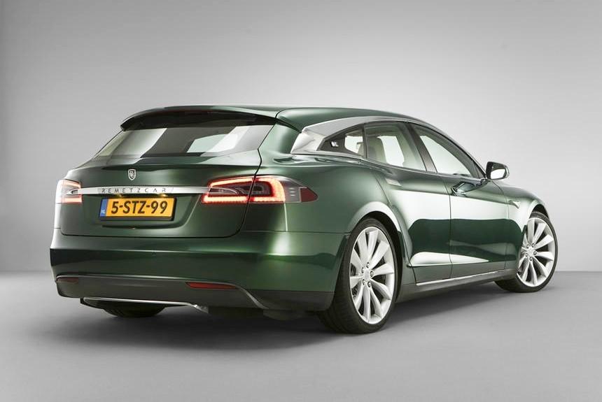 Голландцы построили шутинг-брейк набазе Tesla Model S