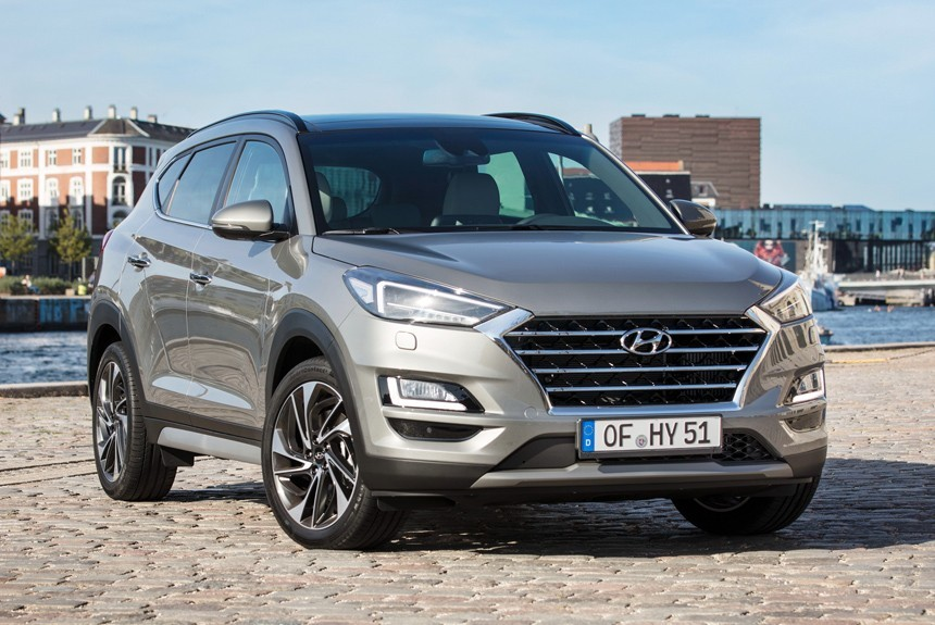 Кроссовер Hyundai Tucson стал 48-вольтовым гибридом