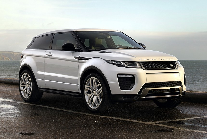 Лэнд Ровер  закончил  выпуск трехдверных кроссоверов Range Rover Evoque