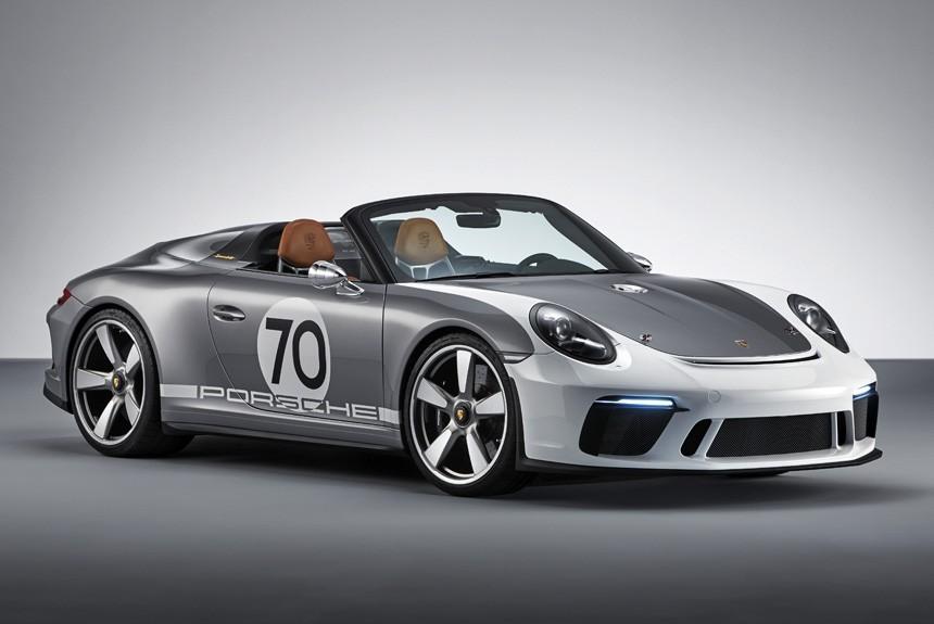 ВФРГ представили юбилейный 500-сильный Порше 911 Speedster