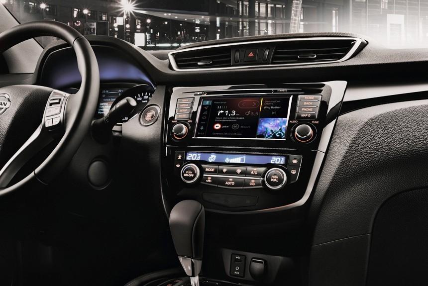 Nissan Qashqai и X-Trail обзавелись системой Яндекс.Авто