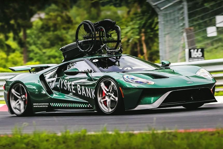 Быстрая инвалидка: Ford GT для парализованного гонщика