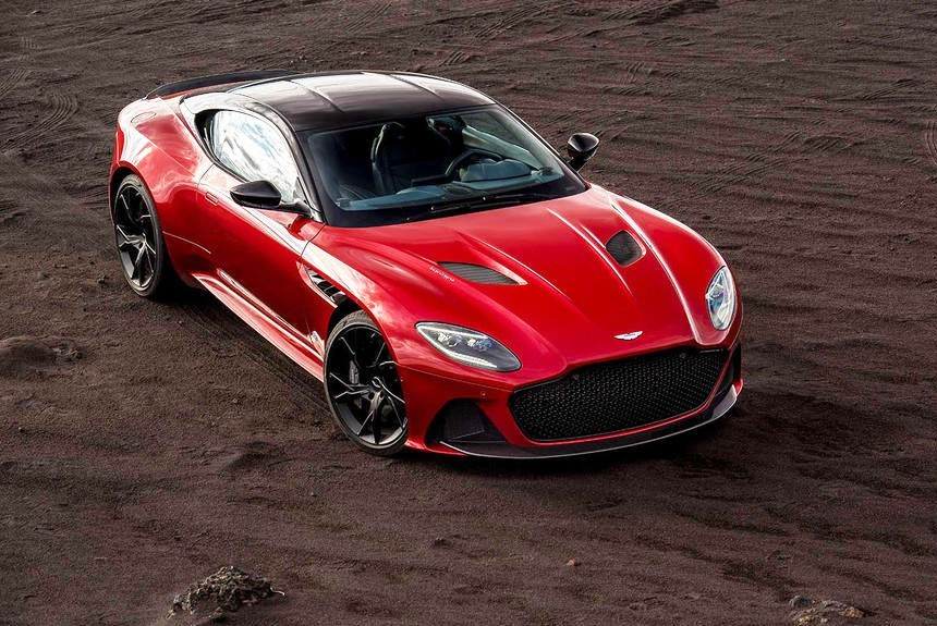 Aston Martin DBS Superleggera: самый мощный в семействе