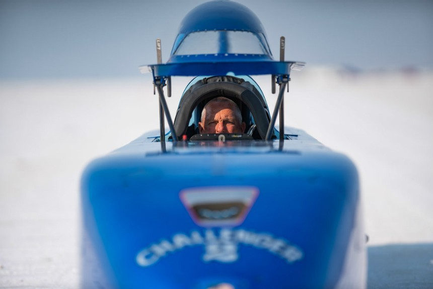 Болид Challenger 2: рекорд скорости на пятидесятилетнем автомобиле