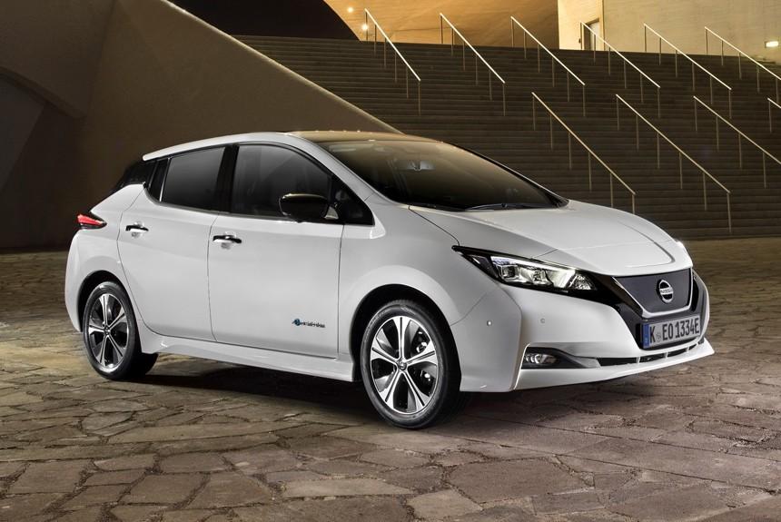 Электрокар Nissan Leaf сертифицировали для России
