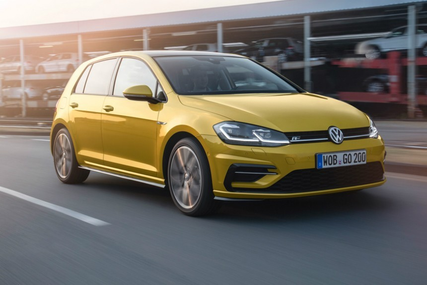 Volkswagen Golf снова в России