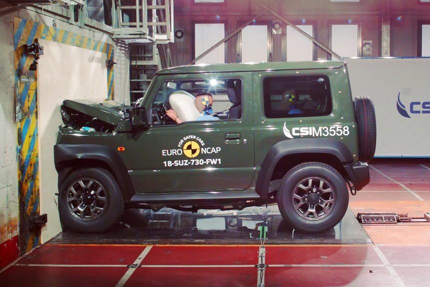 Euro NCAP провел краш-тесты Фольксваген Touareg, Ауди A6 и Сузуки Jimny