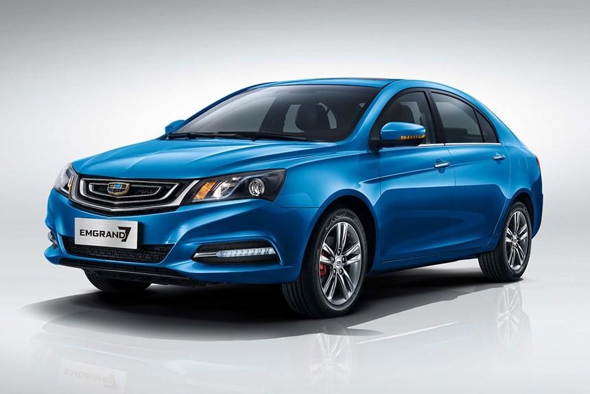 Представители Geely начали продажи улучшенного седана Emgrand 7 вРФ