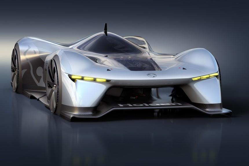 Holden Time Attack Concept дебютировал в виртуальном мире