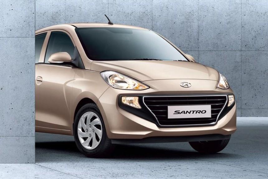 Хэтчбек Hyundai Santro нового поколения: наследник Атоса
