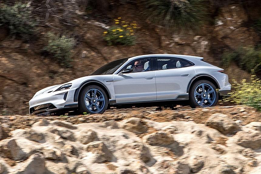 Электрический кросс-универсал Porsche: в продаже через год