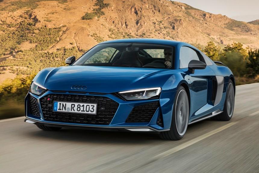 обновленный суперкар Audi R8 мощнее и экологичнее авторевю