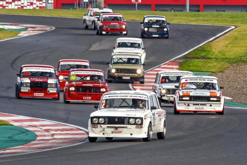 Фото гонки русские авто