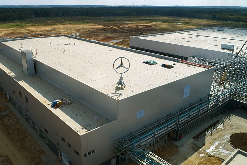завод мерседес в германии конвейер