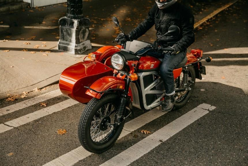ВСША представили электрическую версию мотоцикла «Урал»