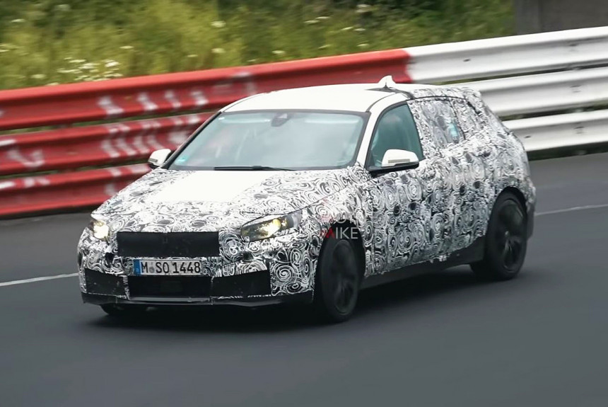 Переднеприводная «единичка» BMW: премьера не за горами