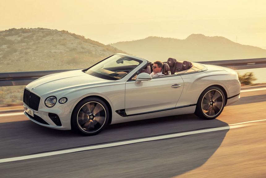 Твидовый пиджак: представлен кабриолет Bentley Continental GT