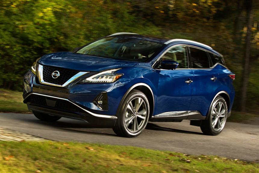 Кроссовер Nissan Murano стал безопаснее после обновления