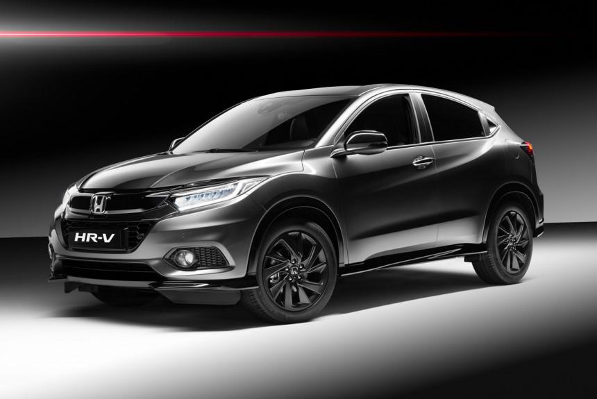 Honda раскрыла «спортивный» кроссовер HR-V стурбомотором