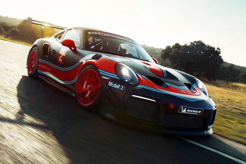 Купе Porsche 911 GT2 RS Clubsport: для клубных гонок