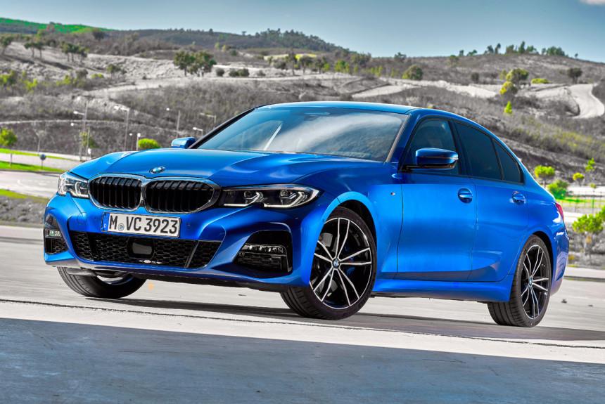 26295f37 О новом BMW третьей серии не выезжая с паркинга — Авторевю