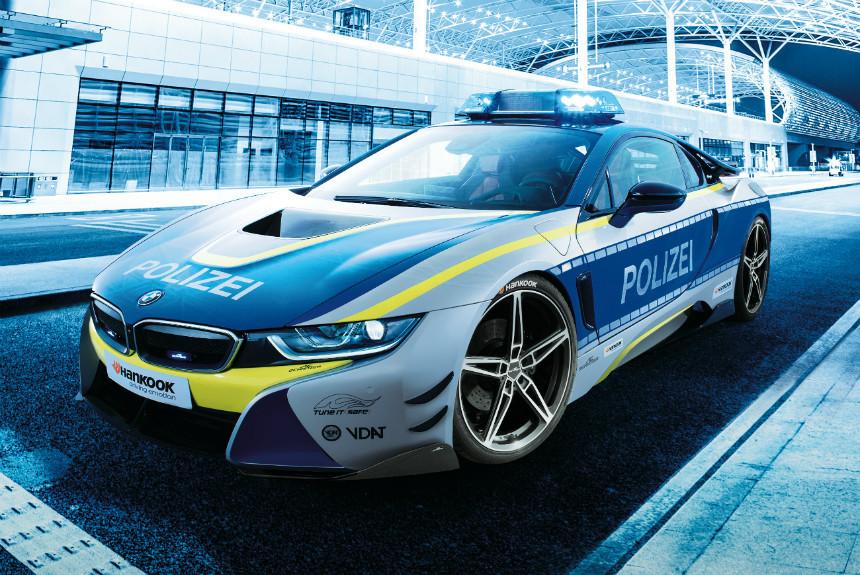 Дайджест дня: полицейский BMW i8, ребрендинг Шкоды и другие события автоиндустрии