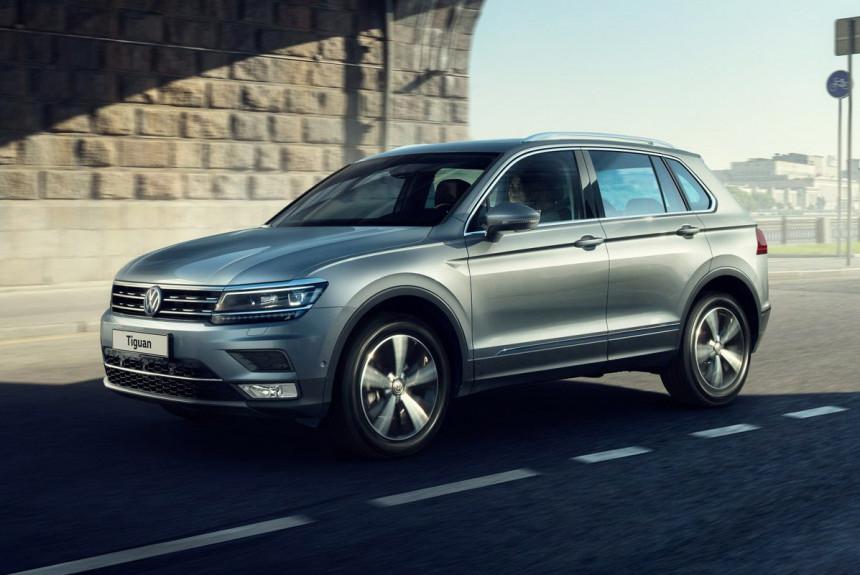 Дизельный Volkswagen Tiguan уходит с российского рынка