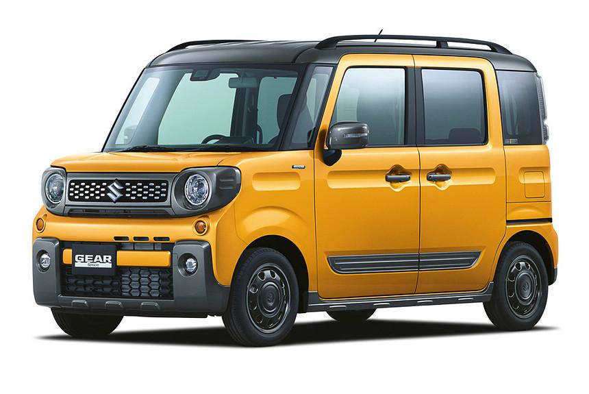 Микровэн Suzuki Spacia Gear прикинулся кроссовером