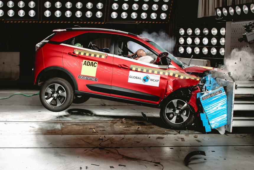 Краш-тесты Global NCAP: пять звезд у индийского автомобиля