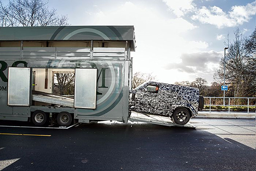 Новый Land Rover Defender: уже скоро?