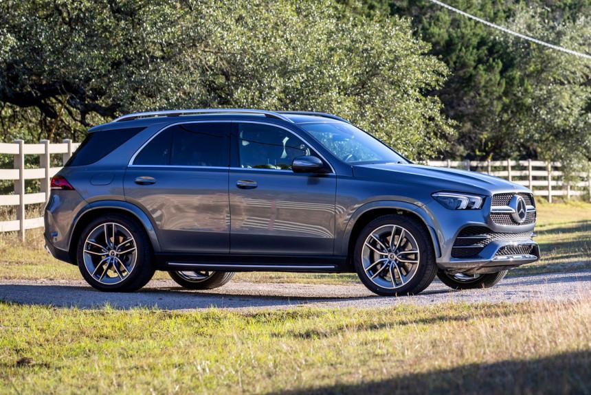 Новый Mercedes GLE обзавелся мощными дизелями