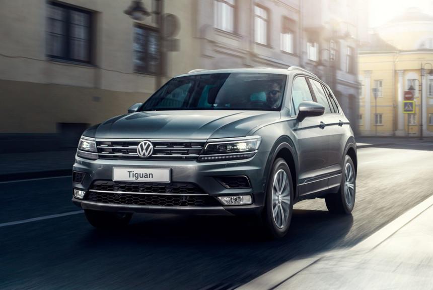 У кроссовера Volkswagen Tiguan изменились цены и оснащение