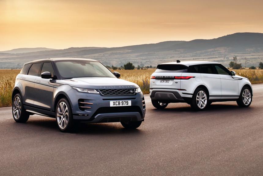 Стали известны цены нановый Range Rover Evoque в РФ
