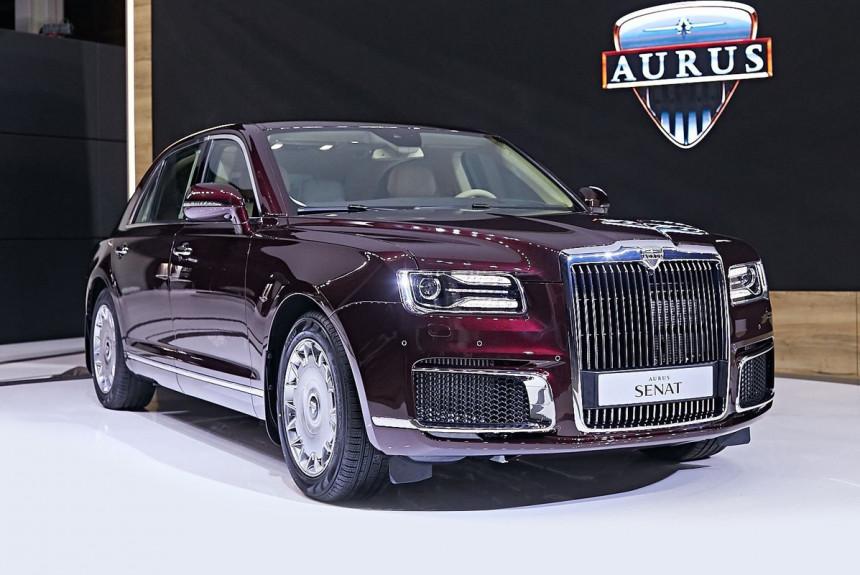 Автомобили Aurus: известны сроки и место серийного производства