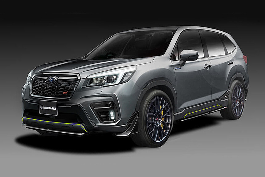 Новые Subaru Forester STI и Impreza STI: репетиция