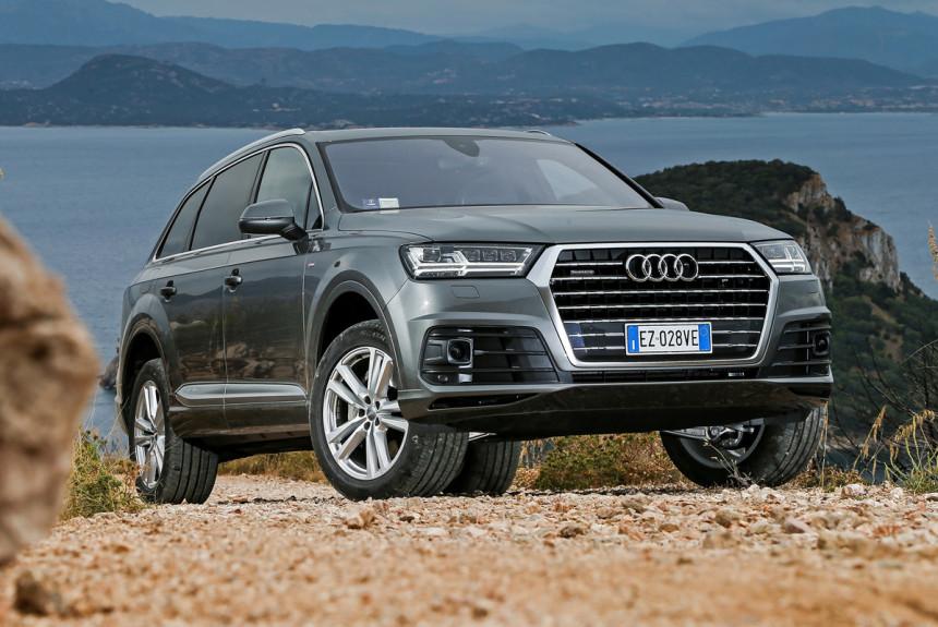 Кроссоверы Audi Q7 будут собирать в Калининграде