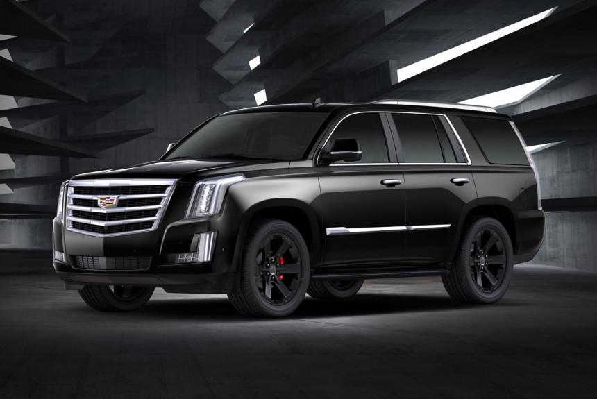 До России добрался юбилейный Cadillac Escalade