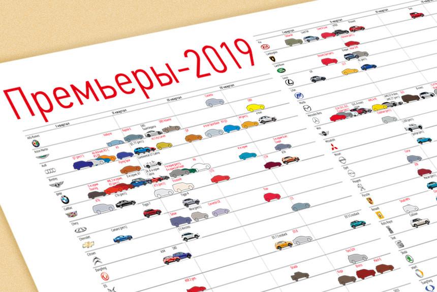98433f70c872ed1 Календарь премьер 2019 года: все новинки на одной картинке