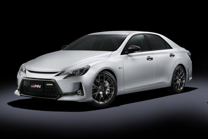 Седан Toyota Mark X GRMN: задний привод и «механика»