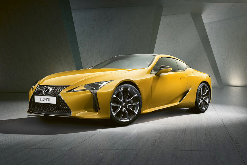 Спецверсия Lexus LC Yellow Edition добралась до России