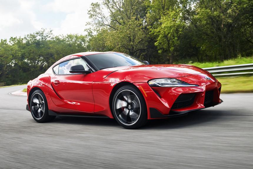 Представлено купе Toyota GR Supra на агрегатах BMW