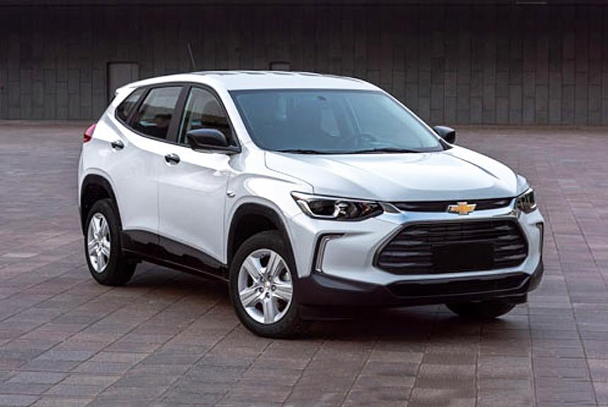 Новый кроссовер Chevrolet Tracker: первые фотографии