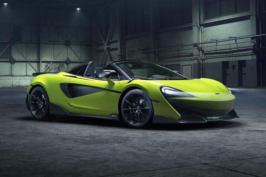 Необходимое дополнение: представлен McLaren 600LT Spider