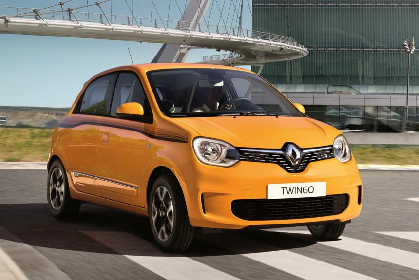 Обновленный Renault Twingo: одноухий бандит