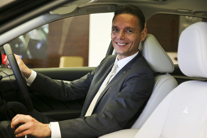 Бывший босс Infiniti займется электромобилями Dyson