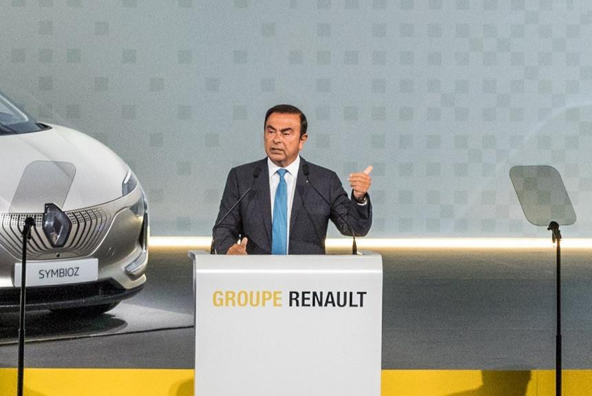Карлос Гон ушел из руководства Renault